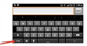 клавиатура андроид